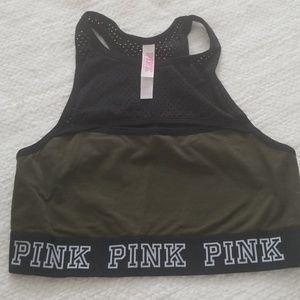 Pink Victoria Secret sport bra